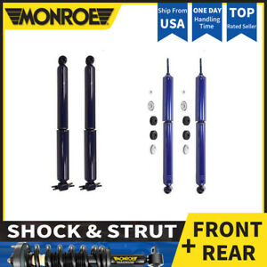 Monroe 4x Front Reart Shocks And Struts For 1994 2001 Jeep Cherokee