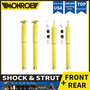 N Monroe 4x Front Reart Shocks And Struts For 1994 2001 Jeep Cherokee
