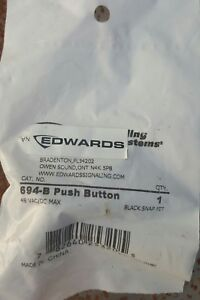 Edwards Signaling 694 b Low Voltage Industrial Push Button Panel Mount