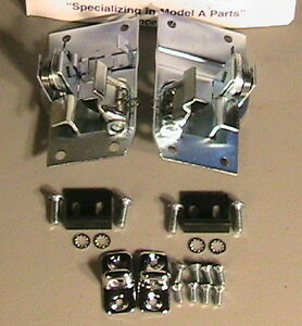 1930 And 1931 Door Latch Package For All Coupes Tudor Sedans Closed Cab Pickup