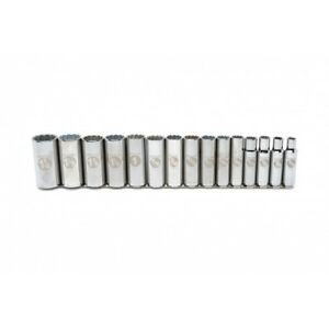 Armstrong Industrial Hand Tools 3 4 Drive 12 Point Sae Deep Socket Chrome