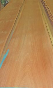 Mahogany Wood Veneer 17 X 111 Raw No Backing 1 42 Thickness a Grade Sheet