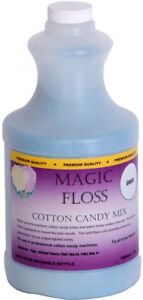 Paragon Magic Floss 4 pound Grape Cotton Candy Mix Bottles pack Of 6