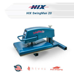 Hix Heat Press Swingman 20 free Shipping