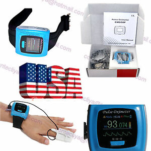 Us Wrist Fingertip Pulse Oximeter 24h Sleep Spo2 Pr Monitor alarm sw adult Probe