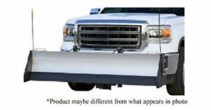 Access Snow Sport Hd Utility 84 Plow With Mount For Chevy gmc 2500 3500