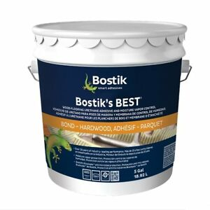 Bostiks Best Wood Flooring Adhesive 5 Gallon