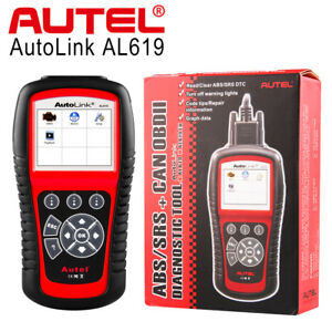 Autel Al619 Abs Srs Obd2 Can Code Reader Scanner Diagnostic Tool Color Screen