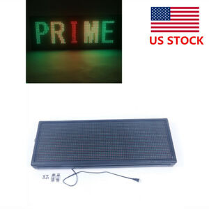 New Led 40 x15 outdoor Programmable Self design Display Open Message Sign Board