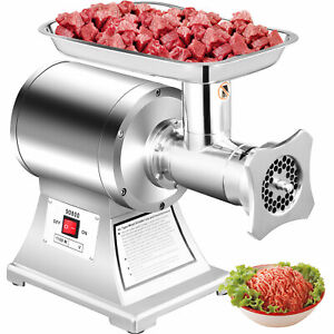 1 5hp 1100w Commercial Meat Grinder Sausage Stuffer Mincer Electric Kitchen