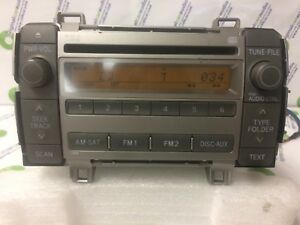 2009 2010 Toyota Matrix Oem Am Fm Xm Sat Radio Stereo Mp3 Cd Player 86120 02710