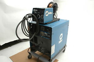 Miller Mig Welder Cp 302 With Miller Wire Feeder And Mig Gun 1 Welds Great