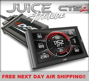 Edge Cts 2 Juice With Attitude For 2007 2010 6 6l Lmm Duramax Diesel 2500 3500
