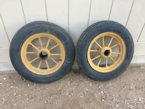 John Deere Unstyled A Front Wheels F h Hc176 F h Early