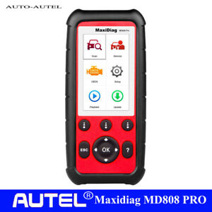 Autel Maxidiag Md808 Pro Obdii Code Scanner Diagnostic Abs Sas Bms All Modules