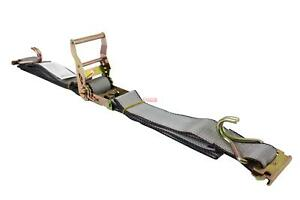 2 X12 E Track Straps With E Fitting And J Hook Cargo Van