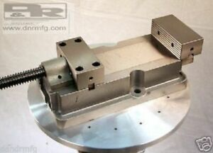 New Kr Machine Vise No Lift Jaws For Manual Milling Cnc Mill Heavy Duty Large