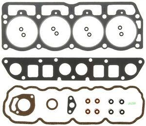 Engine Cylinder Head Gasket Set Mahle Hs3799a Fits 91 93 Jeep Wrangler 2 5l l4