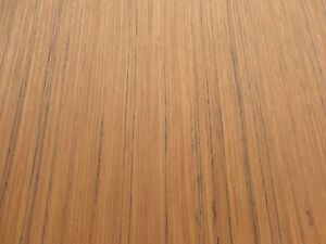 Teak Composite Wood Veneer Sheet 48 X 96 With Paper Backer 1 40th Thickness