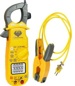 Uei Test Instruments Dl389combo Phoenix Pro Plus Clamp Meter And Pipe Clamp Prob