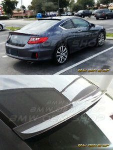 2013 2017 All Color Painted For Honda Accord 9 Coupe K style Roof Spoiler Wing