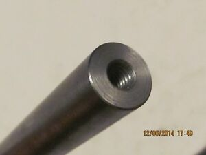 7 8 Steel Rod 1144 High strength 32 Long tapped 1 2 20 Both Ends 1 Pc