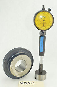 Dorsey Dial Indicator Bore Gage Dyer 38 750mm Master Bore Gauge Setting Ring