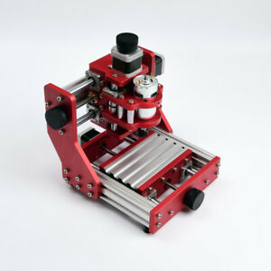 3axis Mini Usb Cnc Router Wood Carving Engraving Pcb Milling Machine 500mw Laser