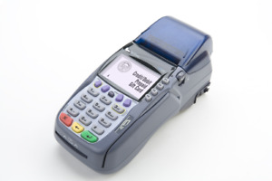 New Verifone Vx570 5700 Dual Comm 6 meg no Contract Now With Emv
