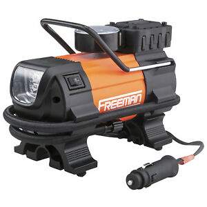 Freeman P30lmti Portable 12v Tire Inflator With Gauge mfr Direct