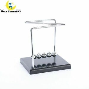 Educational Desk Toy Christmas Newtons Cradle Steel Balance Ball Physics Science