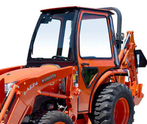 Complete Curtis Hard Sided Cab System Kubota L3200 L3800 Series Tractor