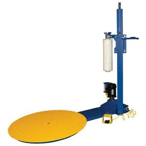 New Semi automatic Stretch Wrap Machine 70 Diameter