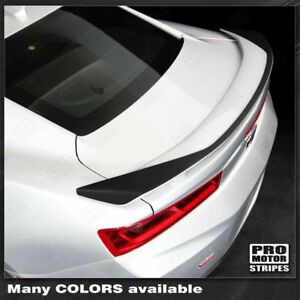 Chevrolet Camaro 2016 2018 ss Raised Spoiler Accent Decal choose Color