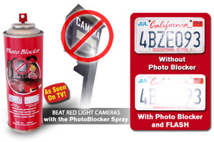 Anti speed Camera Anti Red Light Camera Spray License Plate Police Tested