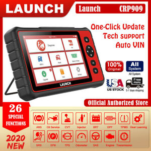 Launch X431 Crp909 Obd2 Car Diagnostic Tool Wifi Full Systems Automotive Scanner
