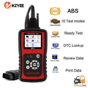 Obd2 Abs Reset Code Reader Dtc Lookup Review Data Print Data Diagnositc Kc401