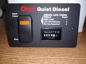 Onan Quiet Diesel Switch
