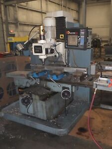 Southwestern Model Trak fhm5 Bed Type Vertical 3 Axis Cnc Milling Machine