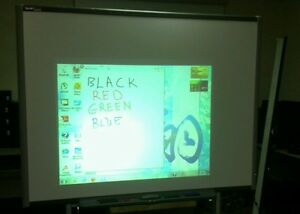 Sb680 77 Smart Board Interactive Board With 4 Pens Eraser Pen Tray And Cable