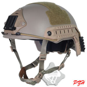 FMA Tactical Fast Base Jump Military Helmet Airsoft Paintball TB326