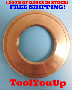 M75 X 1 Metric Thread Ring Gage 75 0 1 0 Quality Machinist Tooling Inspection