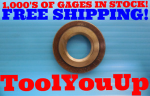 3 4 14 N p t f L1 Pipe Thread Ring Gage 75 Nptf L 1 Inspection Machinist Tools
