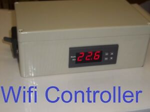 Wifi Plug Play Temperature Controller Timer Charcoal Bbq Grill Smoker Stove