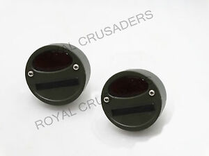 Willys Mb Ford Gpw Jeep Truck Military Cat Eye Rear Tail Light 4 Pair G27 C4