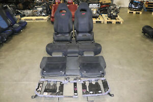 Jdm 03 08 Subaru Forester Sg5 Sg9 Sti Oem Front Rear Seats Front Rail Only