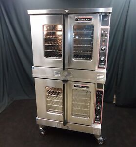 Garland Gas Commercial Full Size Double Stacked Convection Oven Mco 20