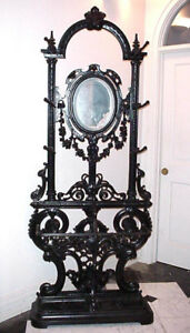 French Antique Hall Tree From Victoria S Secret Cast Iron 19th Century Hat Rack