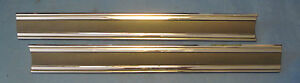 Nos 1965 Buick Lesabre Tail Panel Moldings Right And Left Sides
