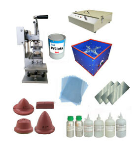 Diy Full Set pad Printing Machine emulsion Coating Machine uv Exposure Unit Etc